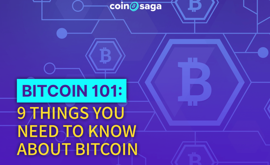 Bitcoin 101: 9 things you need to know about bitcoin