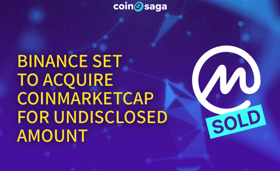 Binance set to acquire Coinmarketcap for undisclosed amount