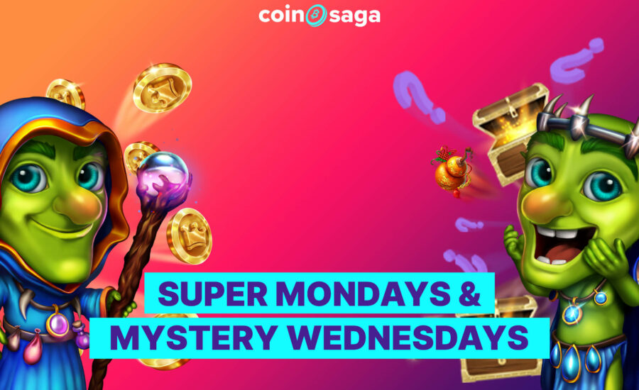 CoinSaga Crypto Casino Promotion
