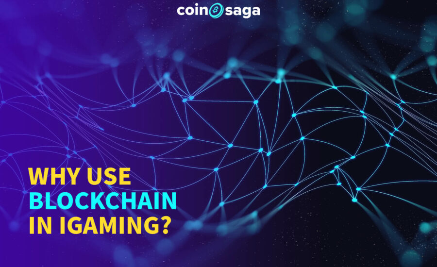 use blockchain in igaming
