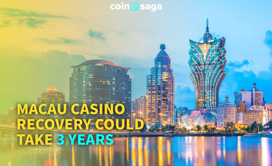 Macau Casino Recovery Could Take 3 Years