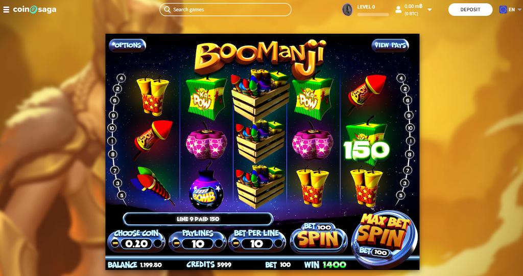 Boomanji Slot Max Bet Spin