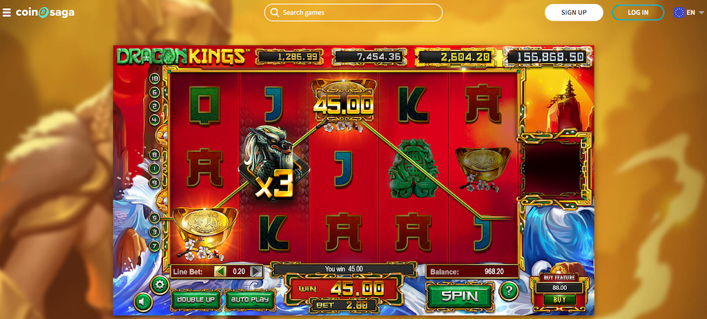 Dragon Kings Slot Review