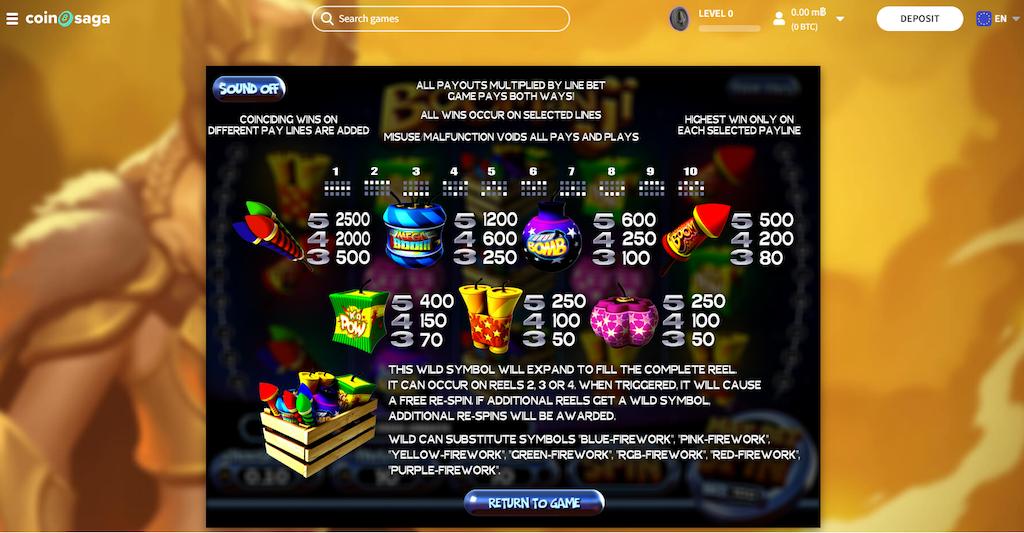 Boomanji Slot Payout