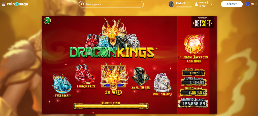 Dragon King Slot Bonus