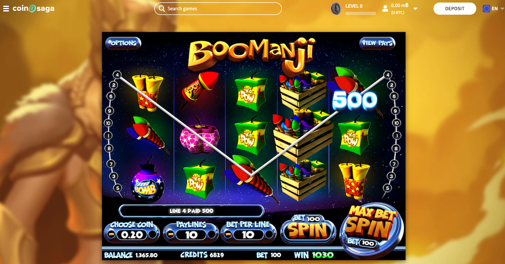 Boomanji Slot Gameplay