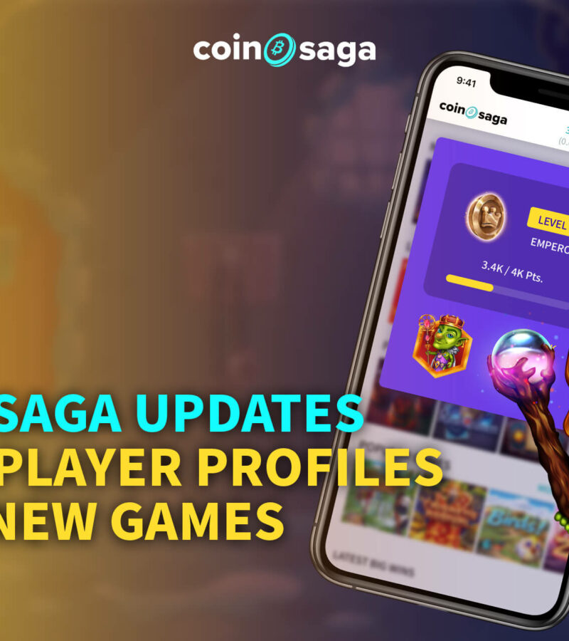 CoinSaga Updates – New Player Profiles and New Games
