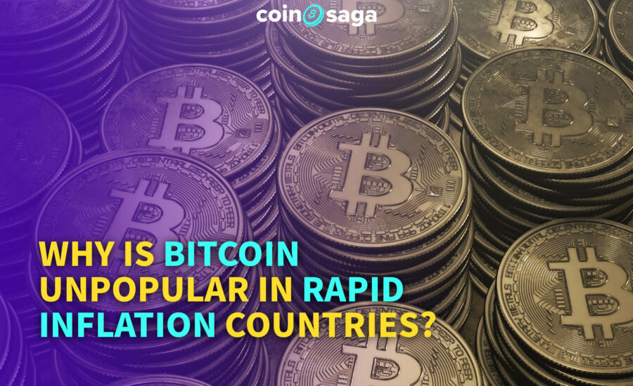 Why is Bitcoin Unpopular in Rapid Inflation Countries?
