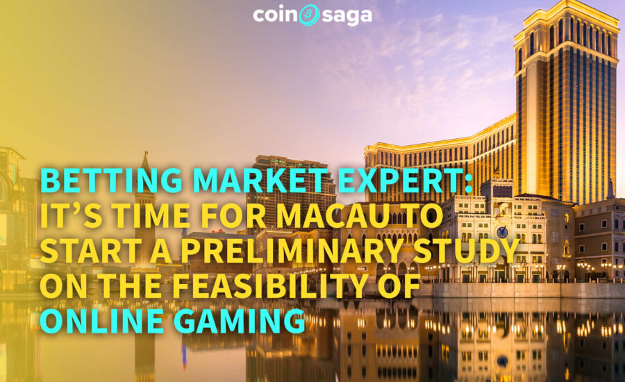 """It's time for Macau to start a study on the feasibility of online gaming"""