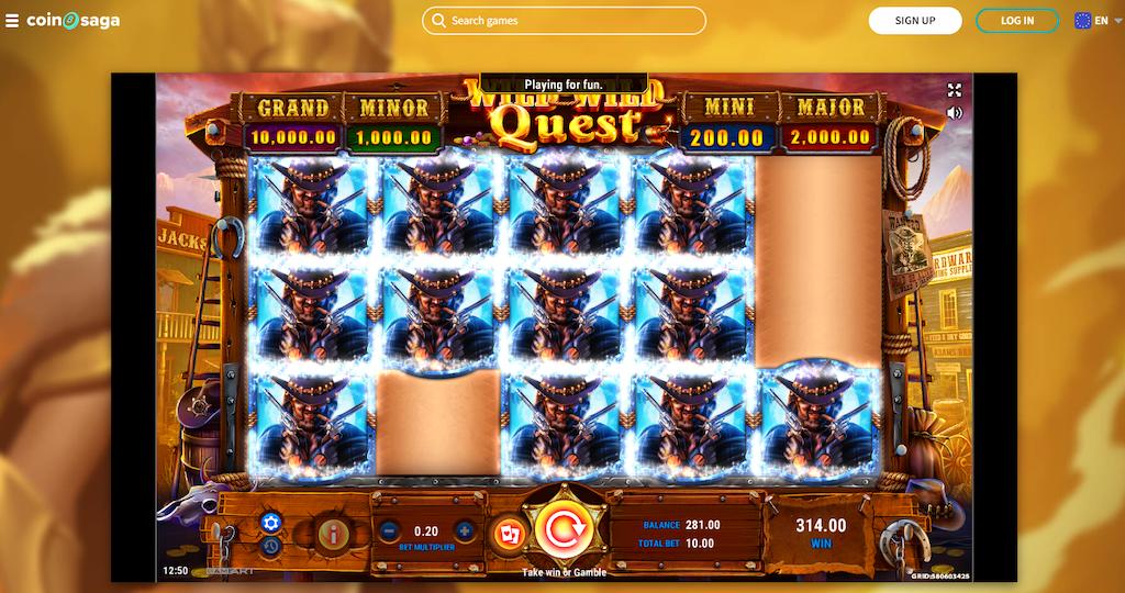 Wild Wild Quest Slot