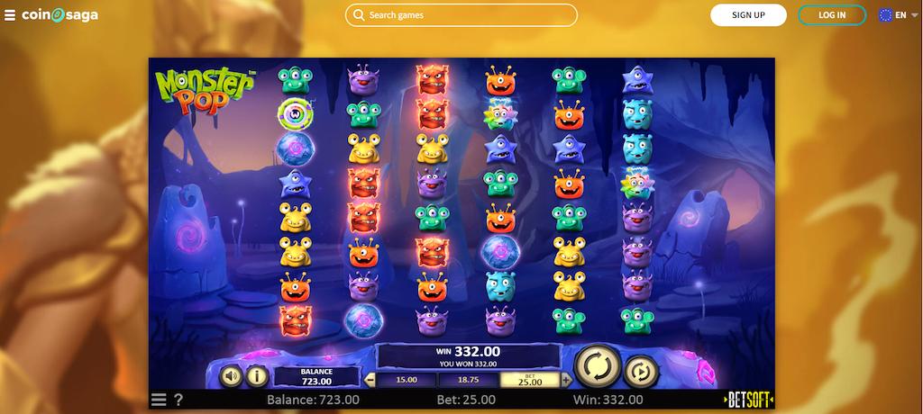 Monster Pop Slot Features