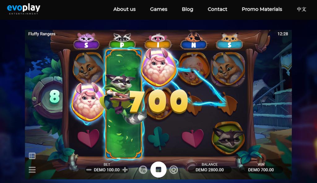 Fluffy Rangers Slot Evoplay