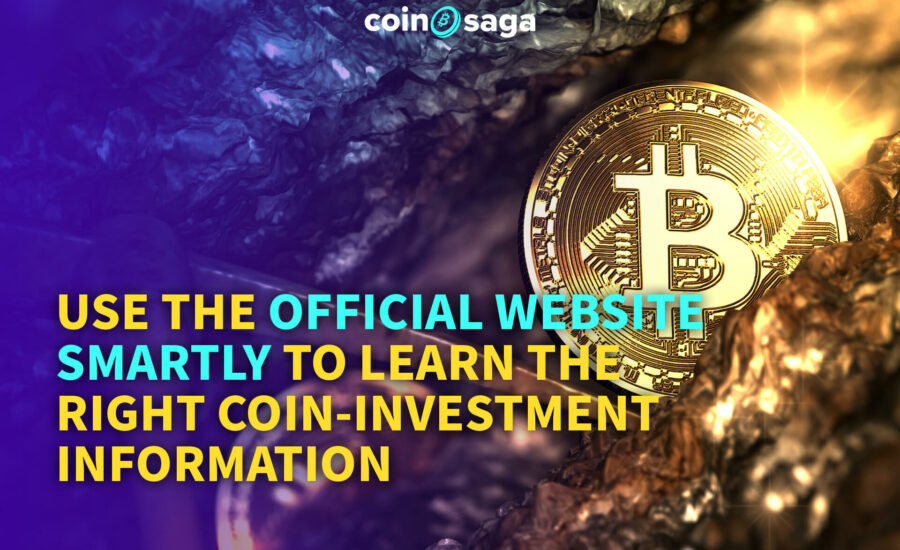 Where do you get your cryptocurrency coin investment information from?