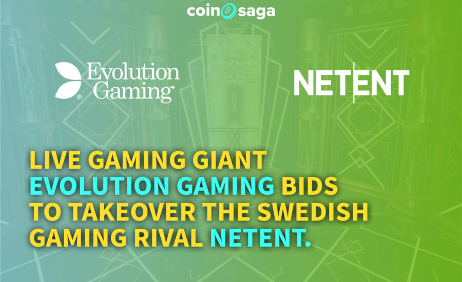 Evolution Gaming bids to takeover Netent