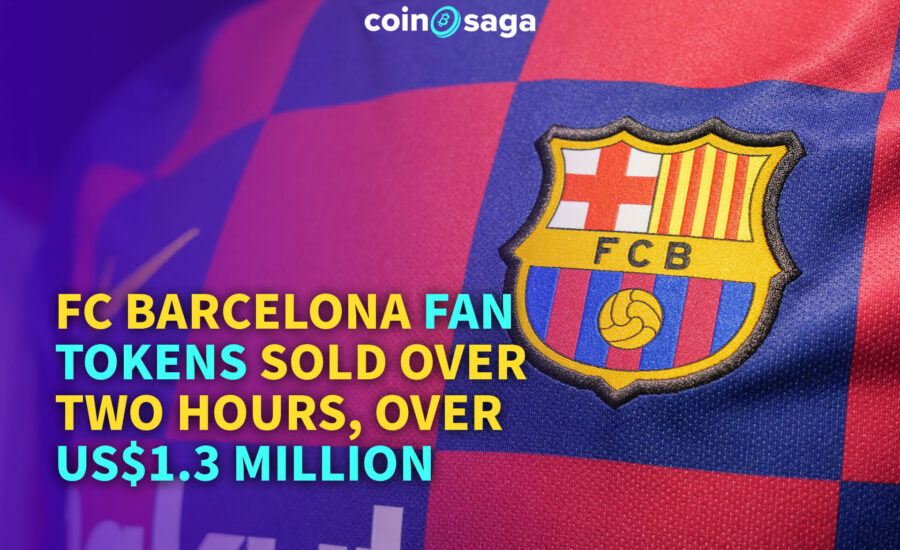 FC Barcelona generates $1.3M from fan token sales