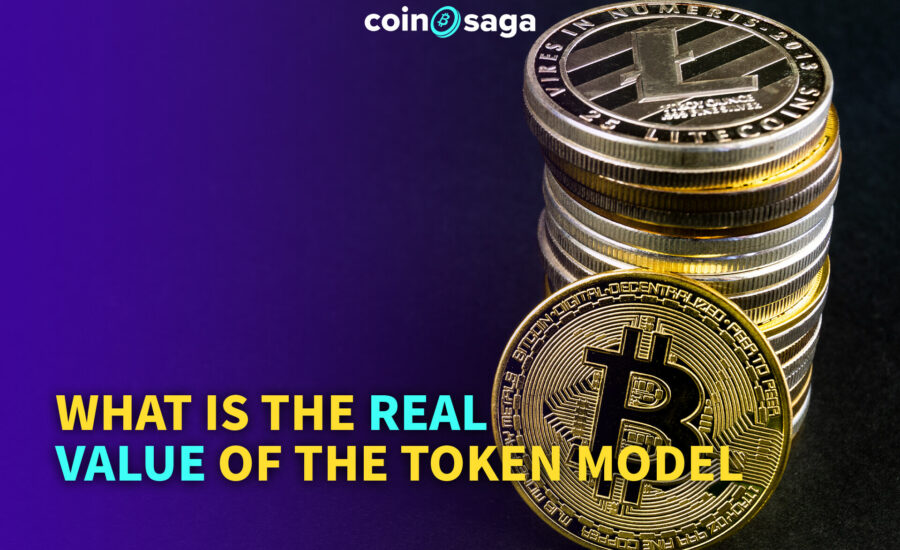 How is the token model achieve the real value of Blockchain?