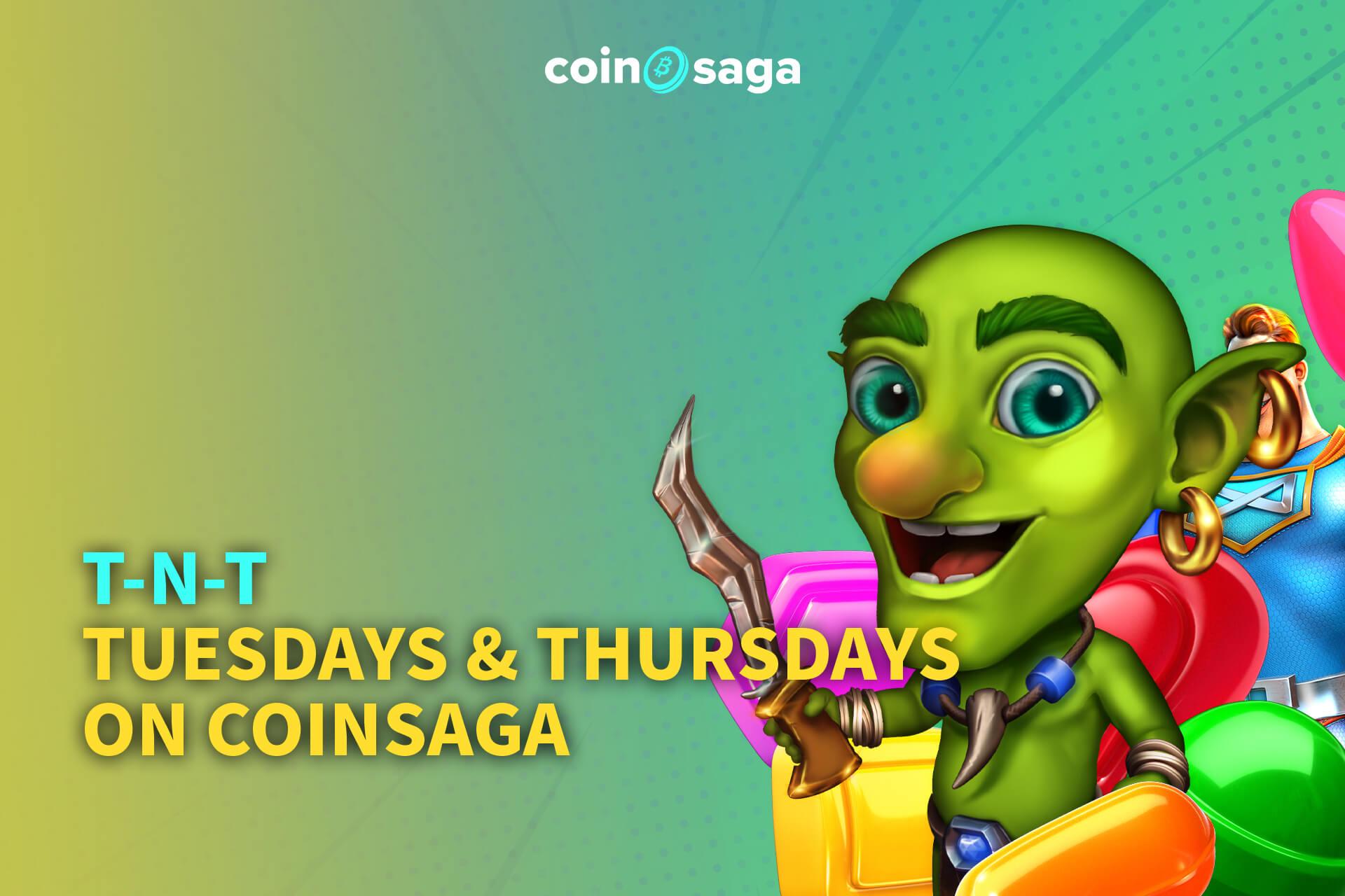 CoinSaga Bitcoin Casino Promotions