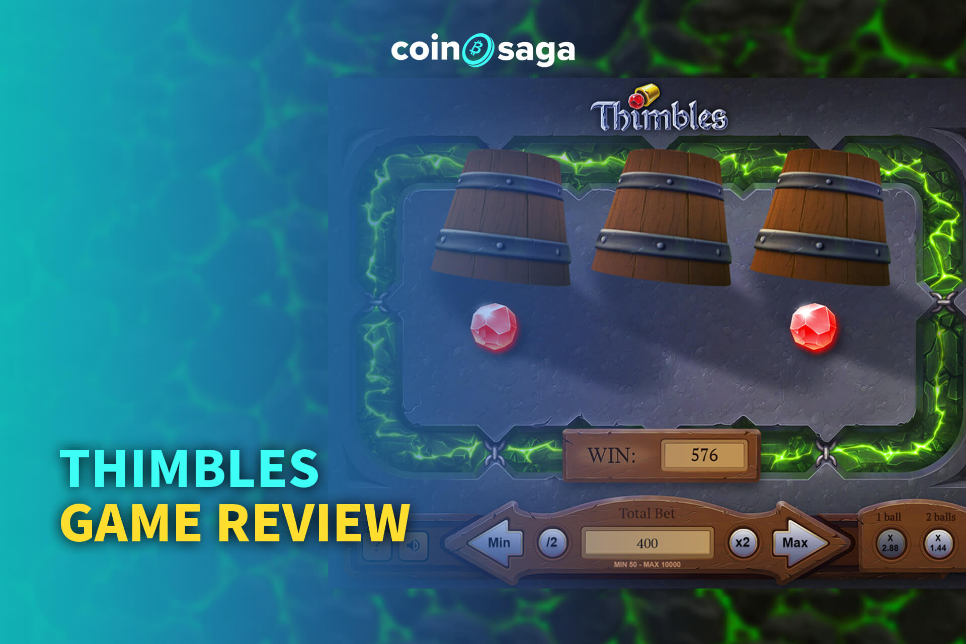 Thimbles Casino Game Review