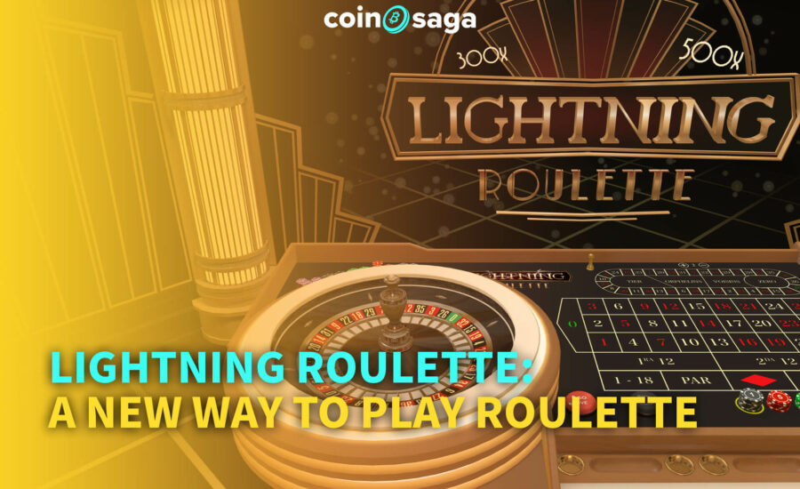 Lightning Roulette: A New Way to Play Roulette
