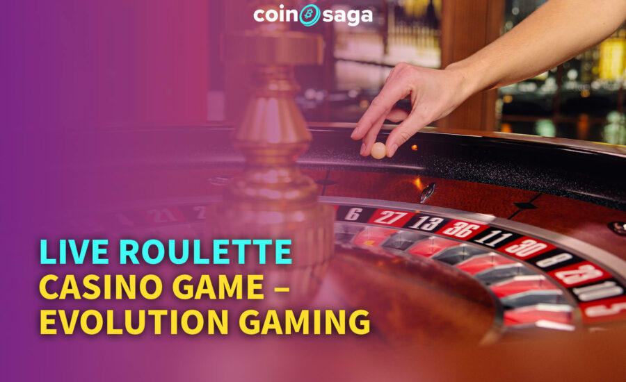 Live Roulette Casino Game – Evolution Gaming