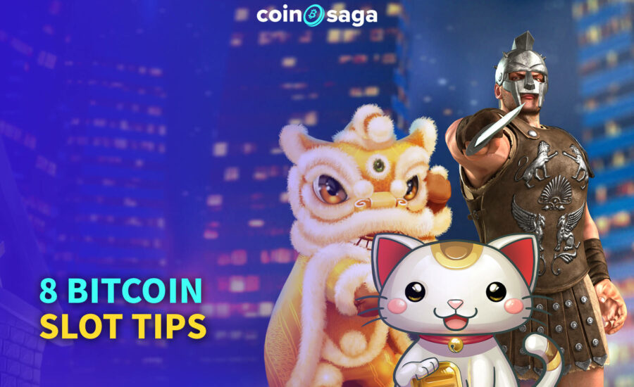 8 Bitcoin Slot Tips for you