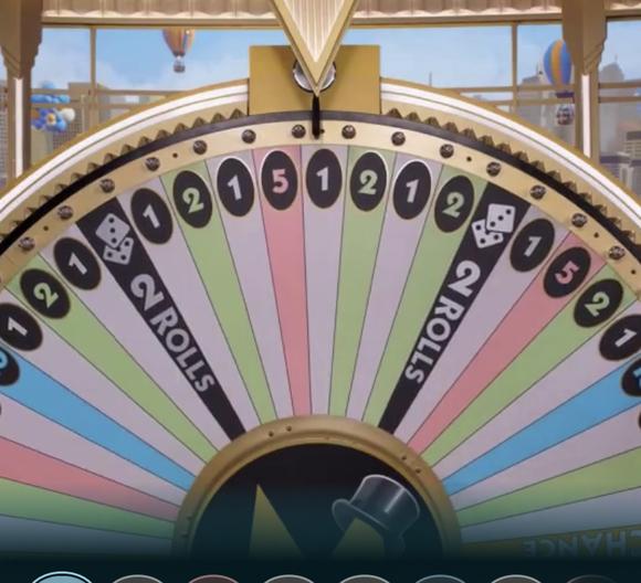 Monopoly Live Wheel Stop