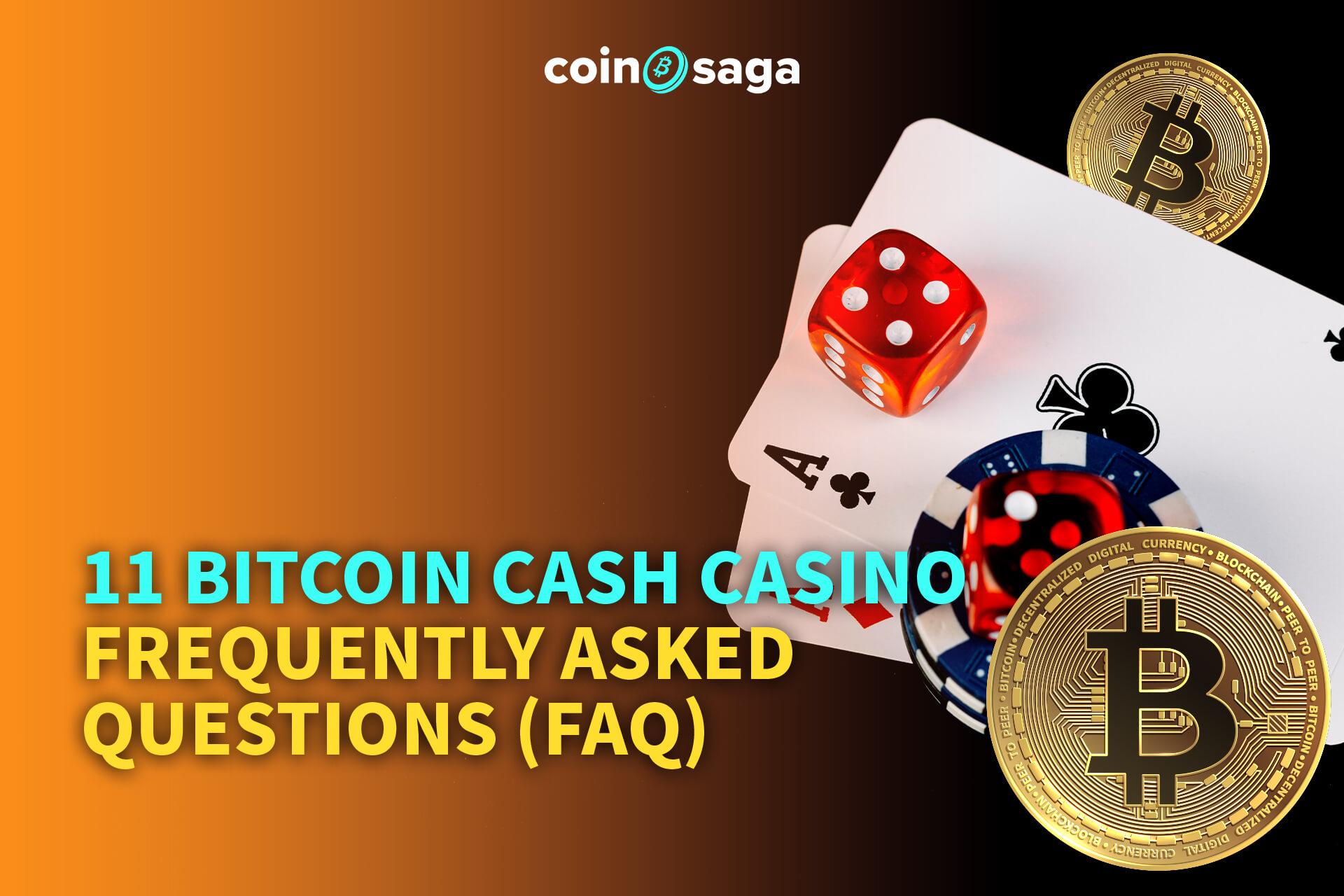 bitcoin cash casino faq