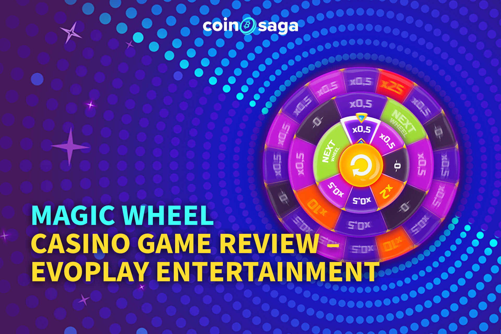 magic wheel evoplay