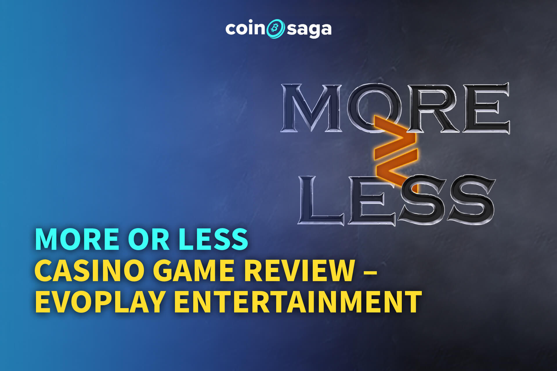 more or less casino game from evoplay