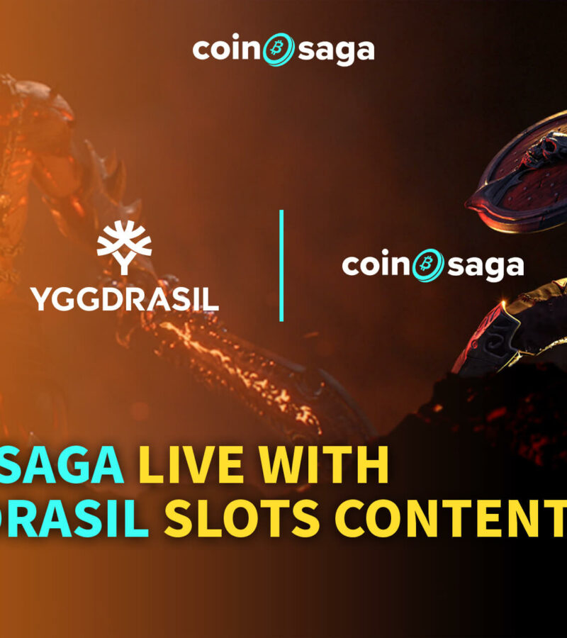 Yggdrasil extensive games portfolio now available to Coinsaga players