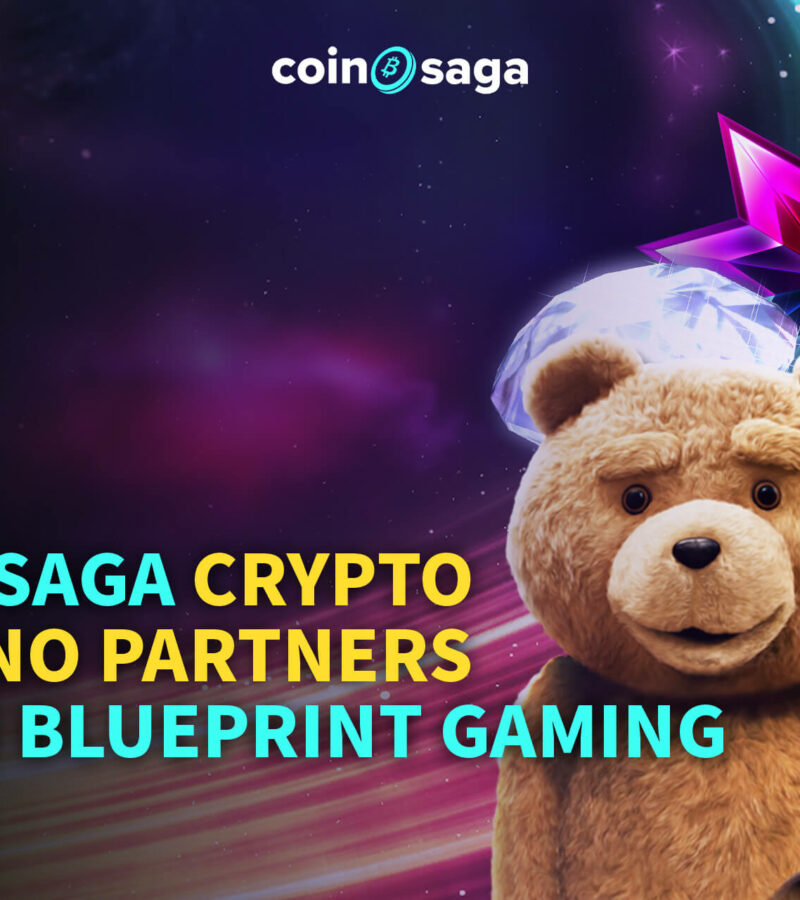 Coinsaga crypto casino partners with Blueprint Gaming
