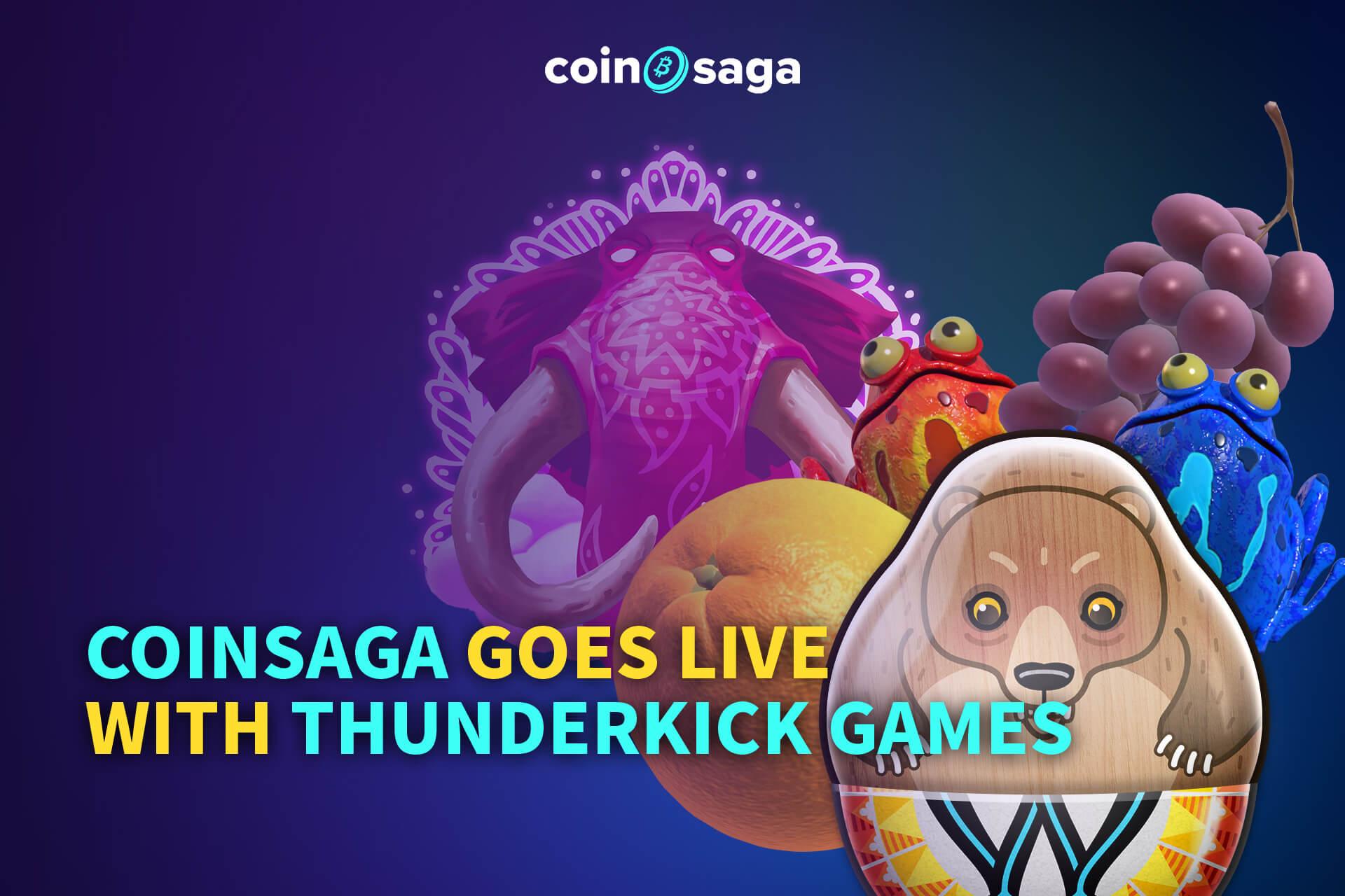 Thunderkick on Coinsaga